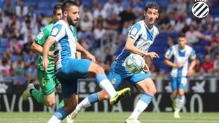 Vargas y Granero, en una jugada del encuentro contra la Real.