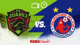 FC Juárez vs Veracruz: Horario y dónde ver.