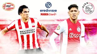 PSV vs Ajax: en vivo minuto a minuto.