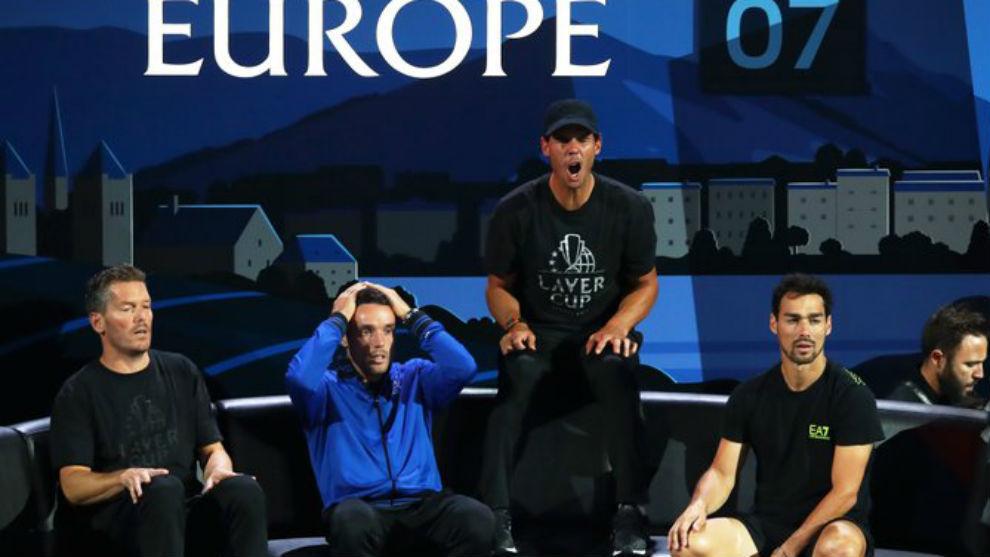 Enqvist, Bautista, Nadal y Fognini muestran su decepción