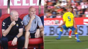 Pepe Mel y la acción del penalti por mano de Lemos aunque sale...