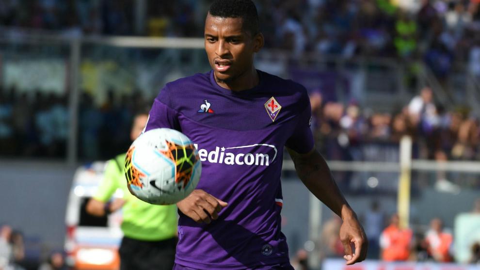 Dalbert, con la Fiorentina