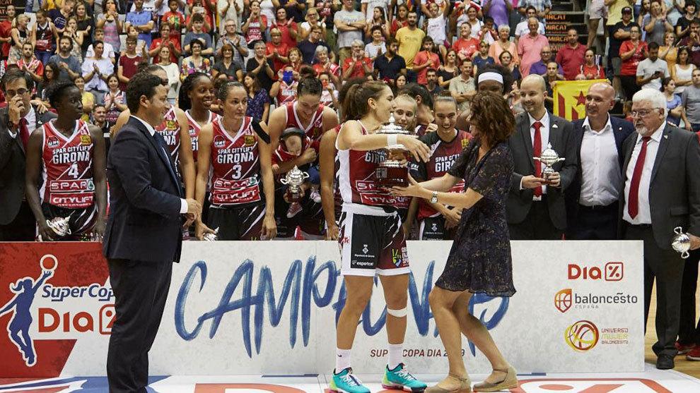El Girona conquistó la Supercopa Femenina