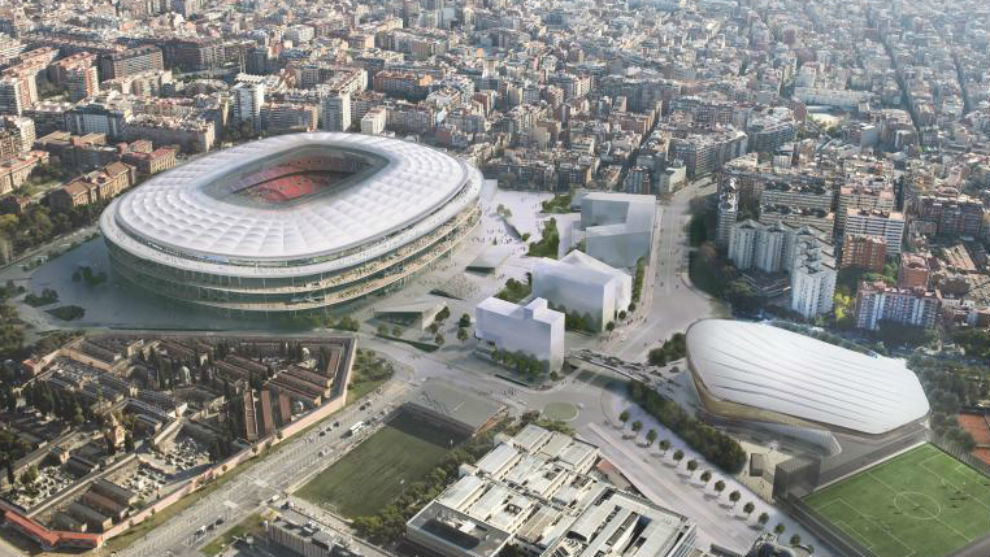 Barcelona have marked 2024 down as the year that the renovation of the New Camp Nou will be completed.
