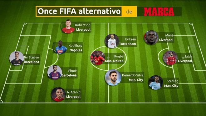 An Alternative Fifa Xi Marca In English