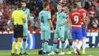 Varios jugadores del Barça en Granada