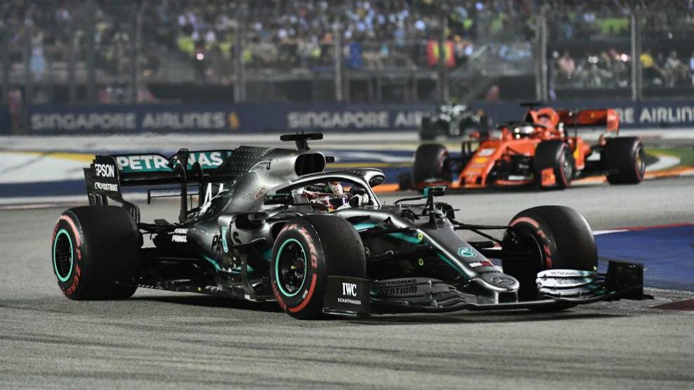 F1 Singapur 2021