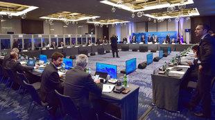 El Ejecutivo de UEFA en Lubiana.