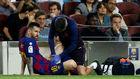 Messi es atendido