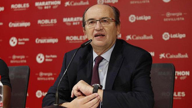 Pepe Castro, en una rueda de prensa.