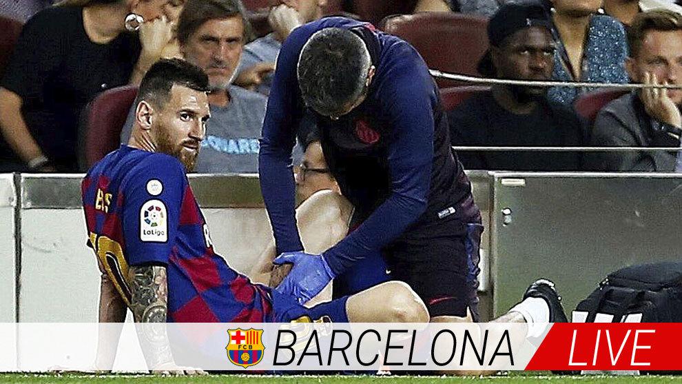Buenos precios precios increibles nuevo estilo de 2019 FC Barcelona: Últimas noticias del Barça hoy: la lesión de ...