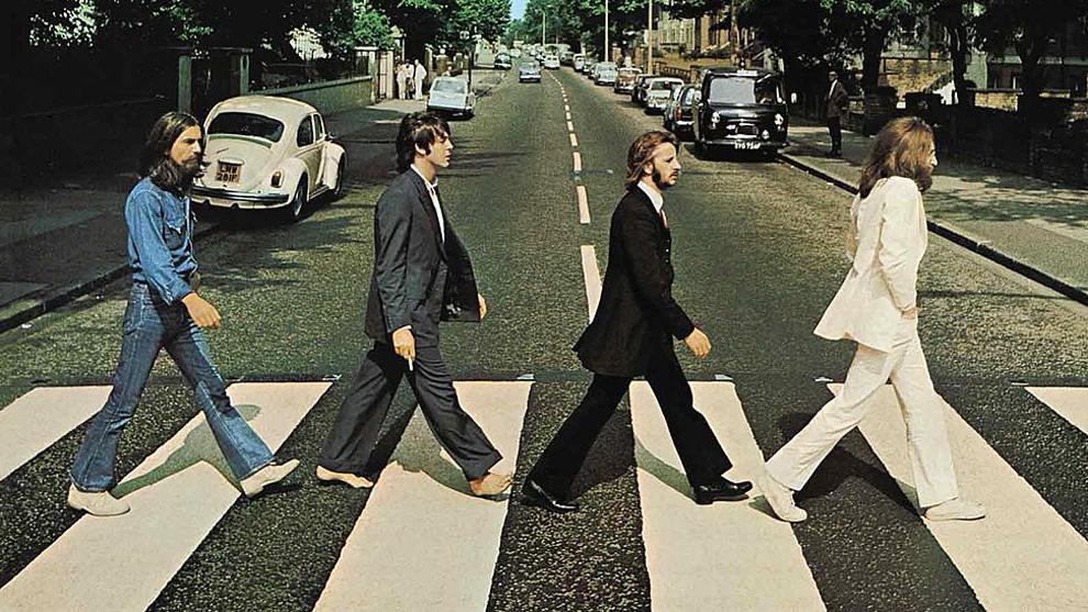 Los Beatles vuelven a cruzar Abbey Road