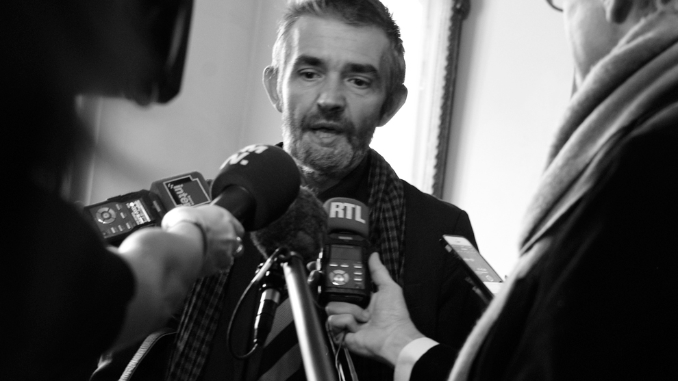 Philippe Lançon, autor de 'El colgajo'.