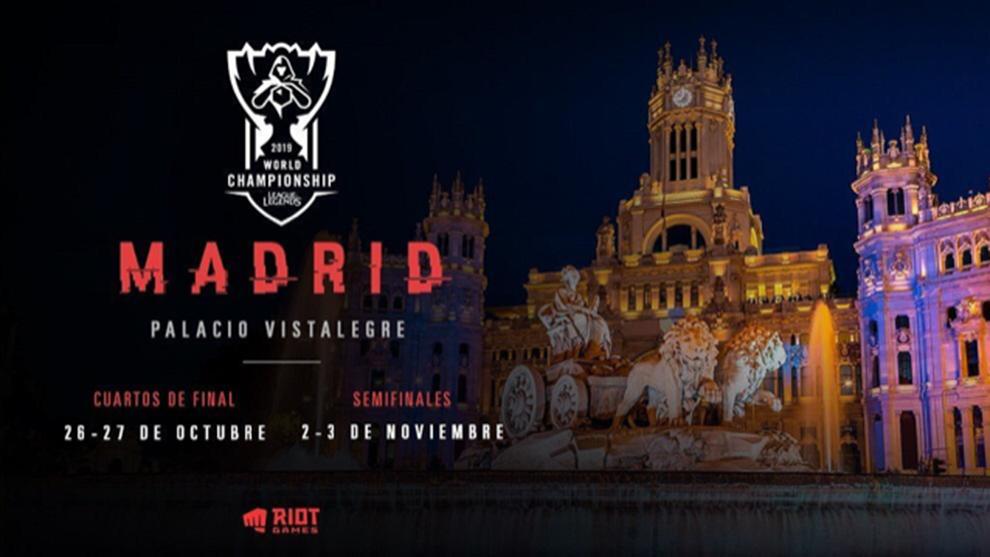 El Palacio Vistalegre de Madrid acogerá los cuartos y semifinales de...