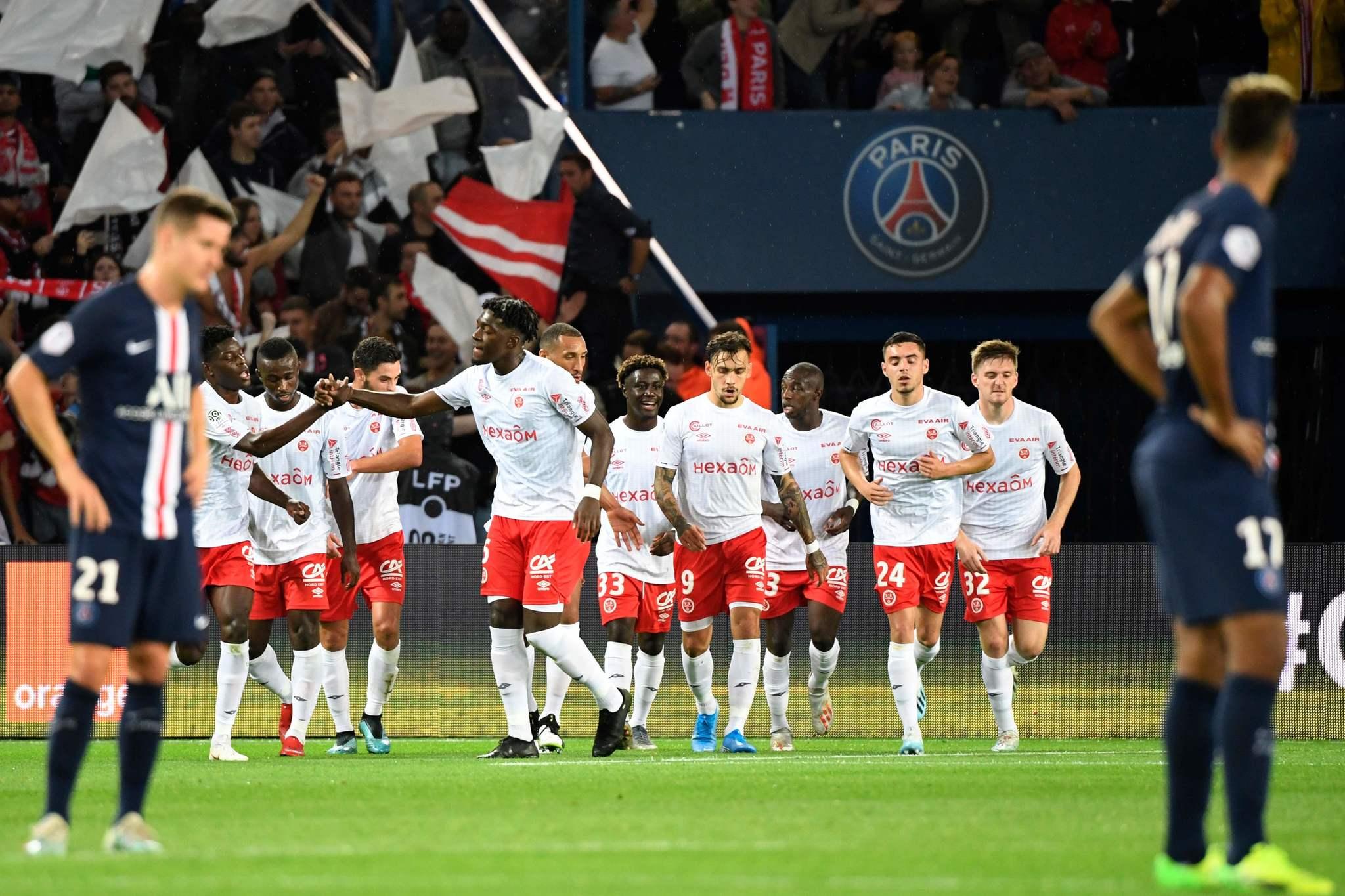 El Reims sorprende al PSG (0-2)