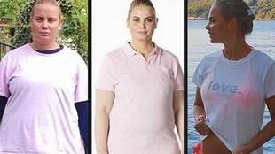 """La ex tenista Jelena Dokic pierde 57 kilos en 11 meses: """"Casi me..."""