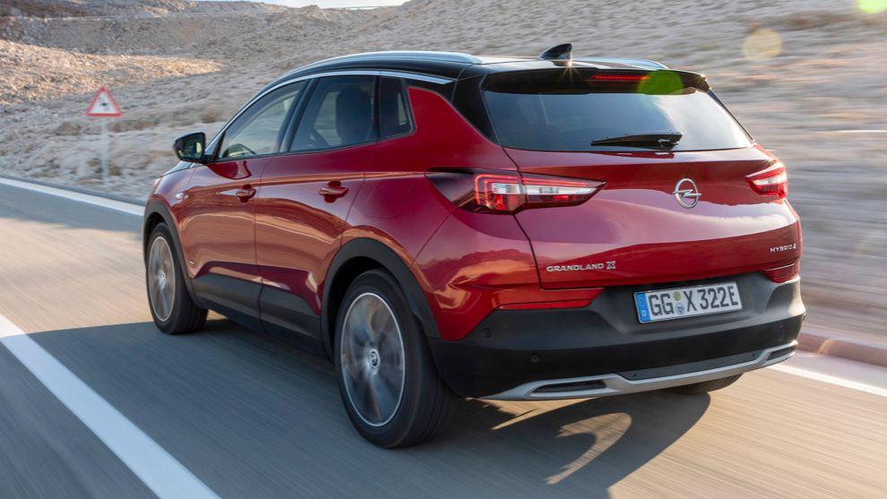 Opel Grandland X híbrido enchufable