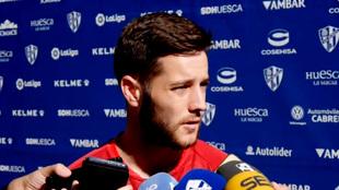 Miguelón habla en la previa del Huesta-Girona