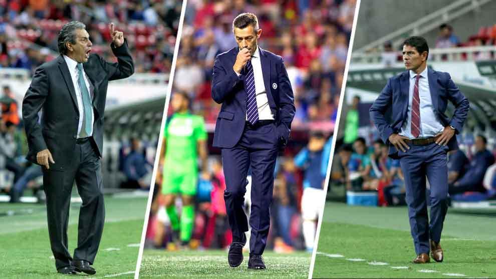 Seis técnicos han sido despedidos en el Apertura 2019