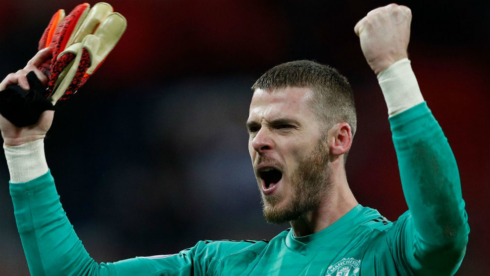 David de Gea sends message of support to Manchester United manager Solskjaer