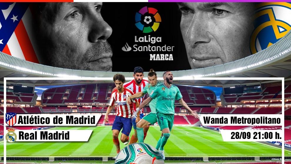 oficial mejor calificado venta directa de fábrica barato mejor valorado LaLiga: Atlético - Real Madrid: horario, canal y dónde ver ...