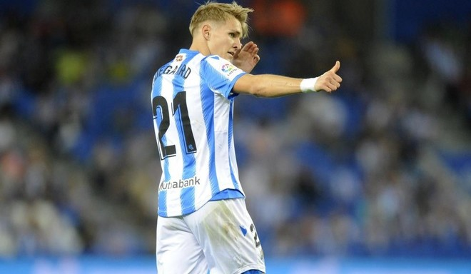 Image result for odegaard