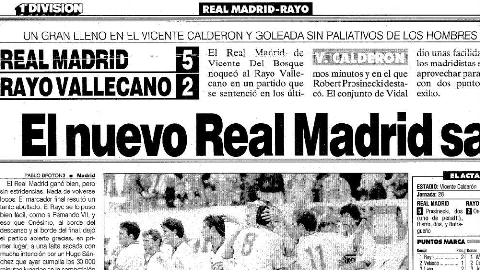 Cuando Real Madrid y Atlético juegan en el mismo estadio