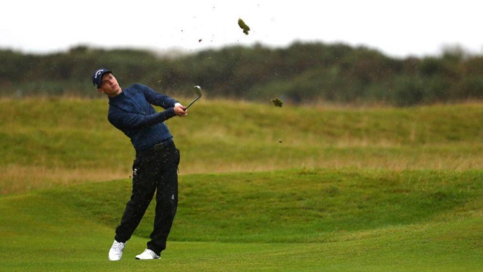 Matthew Jordan, durante el torneo.