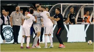 Lucas, Costa, Oblak, Benzema y Simeone en el 3-7
