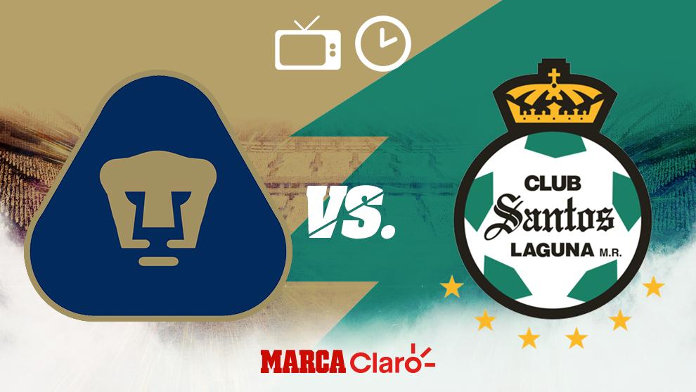 Pío Deseo Extraer  Liga MX Clausura 2020: Pumas vs Santos: Horario y dónde ver en vivo por tv  el partido de la jornada 12 del Apertura 2019   MARCA Claro México