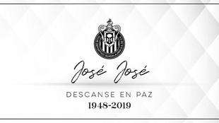 Chivas se unió a las condolencias por el fallecimiento de José...