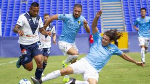 Luis Sánchez abrió el marcador en el 61