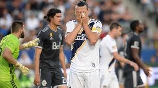 Zlatan tuvo una mala noche