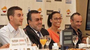 Gerard Descarrega, Miguel Carballeda, Teresa Perales y Ricardo Ten.