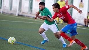 Yassin Fekir con el Guijuelo