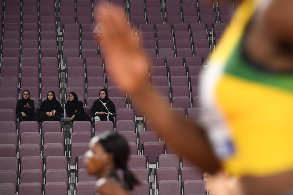 Es una de las notas negativas de estos Mundiales, la escasa asistencia...