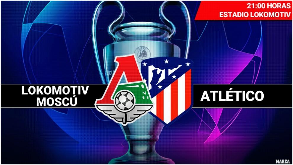 UCL 19/20 Grupo D; 2º Partido: Lokomotiv de Moscú vs Atlético de Madrid (Martes 1 Oct. /21:00) 15698625982111