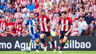 El Athletic ganó al Alavés en el partido que les enfrentó en Liga...