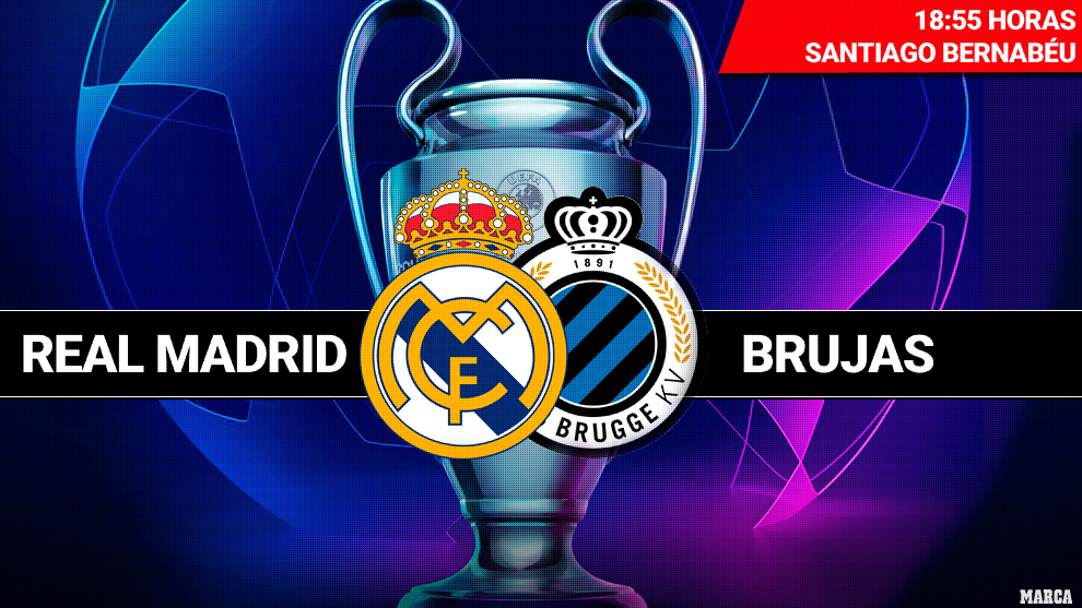Real Madrid: Real Madrid vs Club Brugge: Hazard can't hide ...