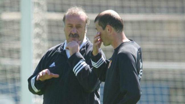 Del Bosque y Zidane, en una imagen de archivo