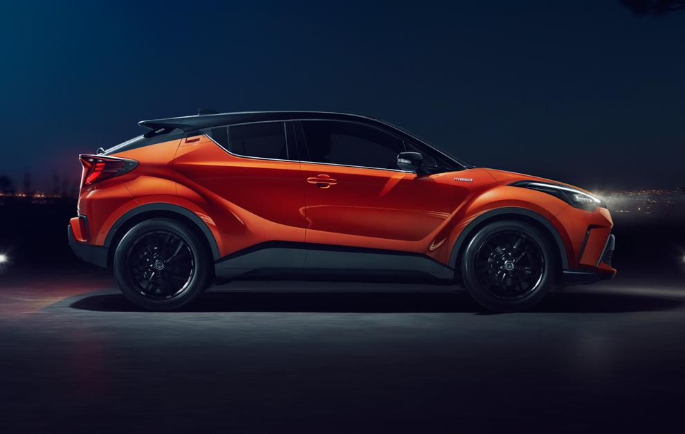 Toyota C-HR 2020: actualización y mejoras mecánicas