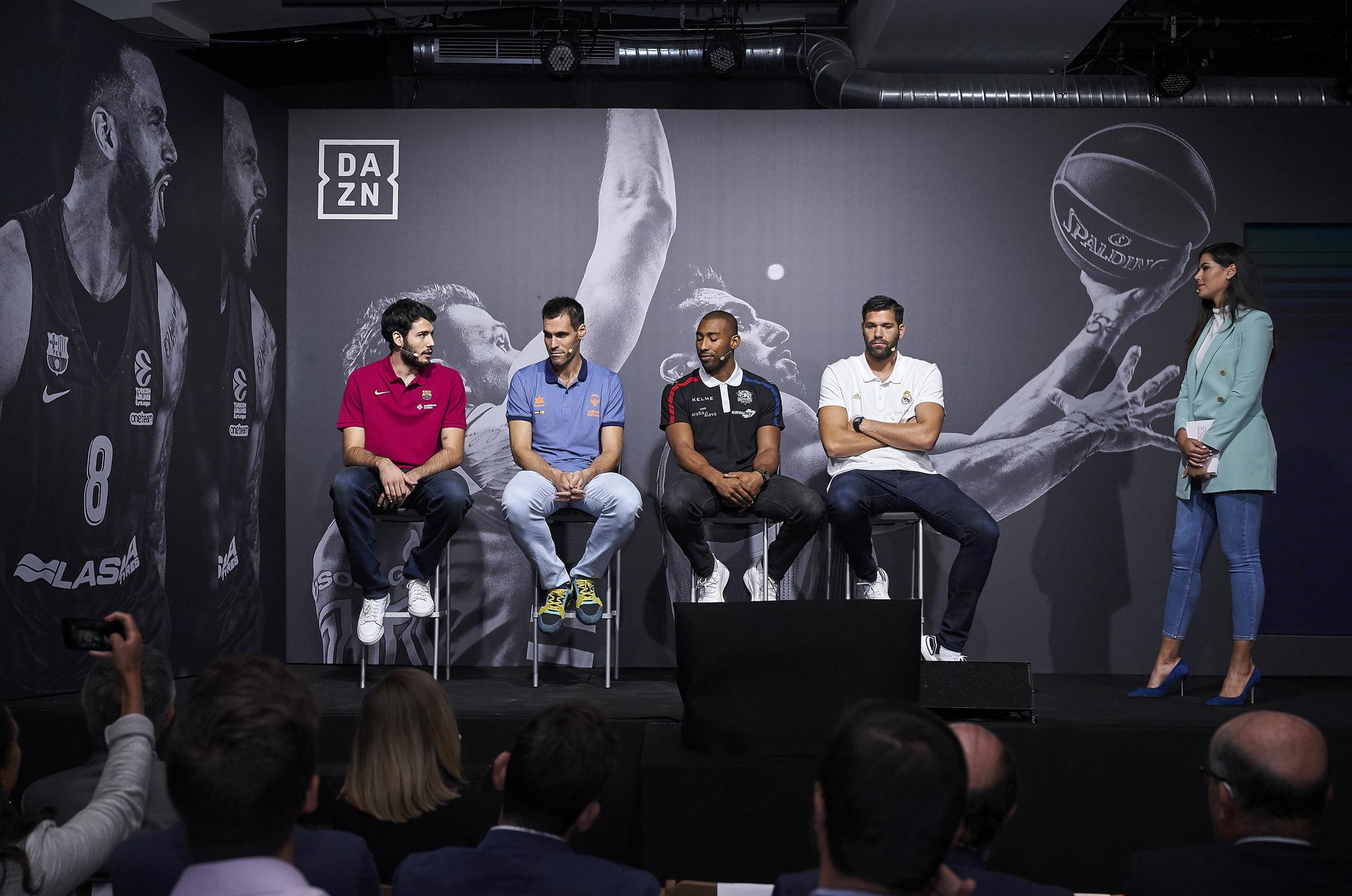 Donde y como ver en TV y online la Euroliga de Baloncesto 2019 en DAZN