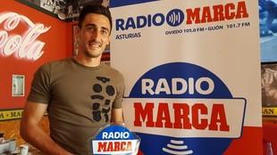 Diego Mariño, durante su visita a Radio MARCA.