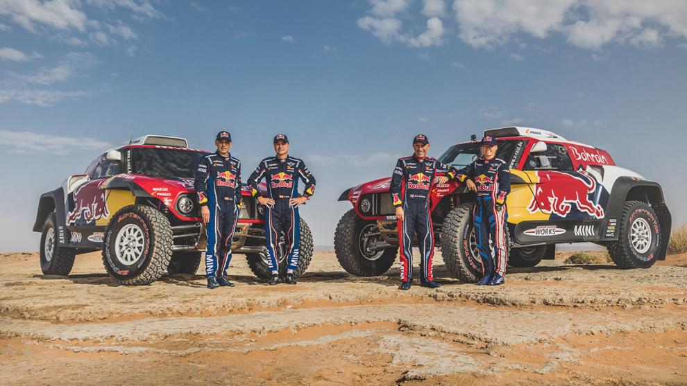 Mini X-raid Rally de Marruecos 2019