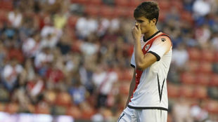 Martín, durante un partido esta temporada.