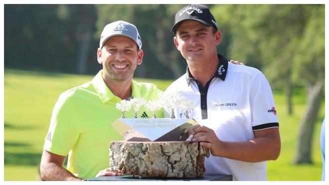 Sergio García y Christiaan Beizendehout, los dos últimos ganadores.