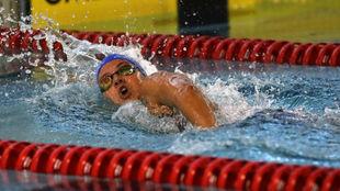 Catalina Corró en acción durante el Campeonato de España  Absoluto