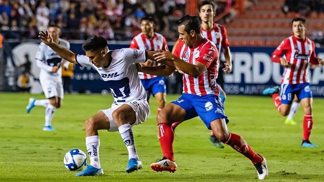 Pumas expondrá su invicto ante Atlético San Luis este mediodía en el primer partido de la jornada dominical