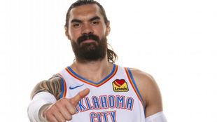Steven Adams afronta su séptima temporada en la NBA con los Oklahoma...