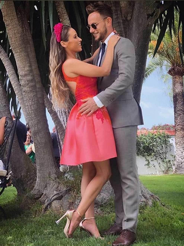 Ivan Rakitic and Raquel Mauri